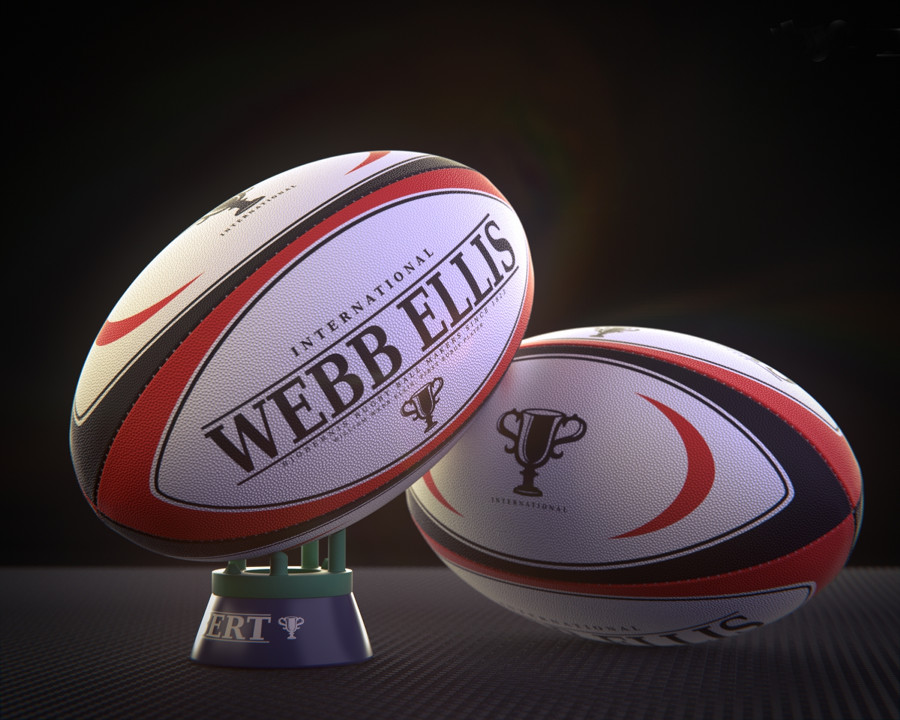 Webb Ellis Rugby ball, 2012